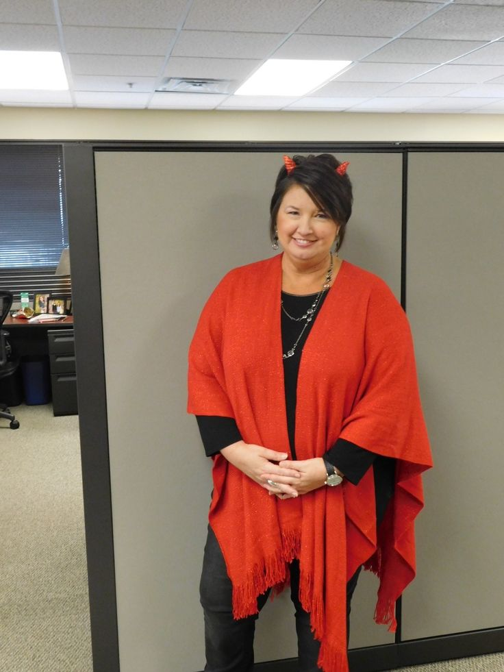 creative halloween costume for the office devil - Best Halloween Costumes For The Office