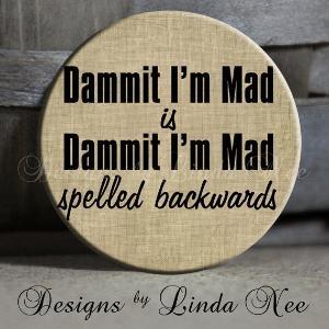 HAH is hah spelled backwards