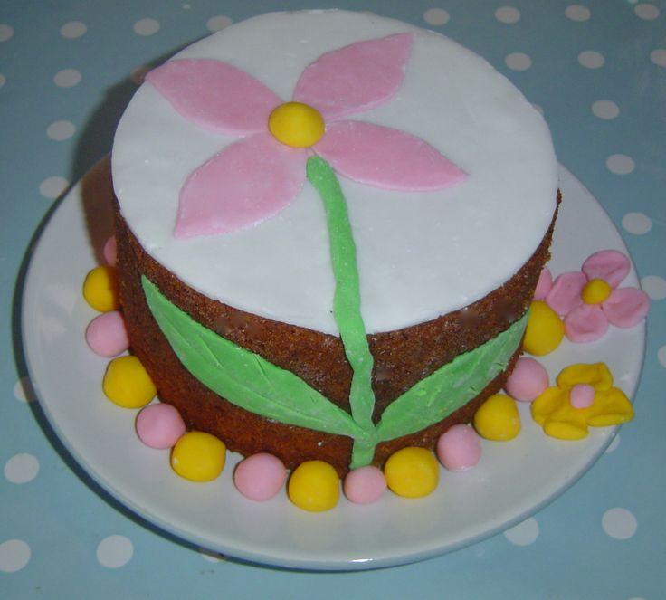 2nd birthday cake, luckily she wants something similar this year!
