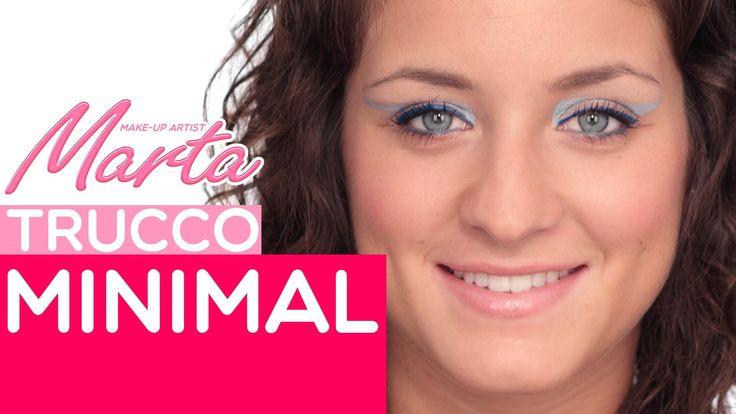 Un #makeup insolito per chi vuole essere originale con poco! Scoprite come realizzare un #trucco #minimal in questo veloce tutorial. #festa #danza