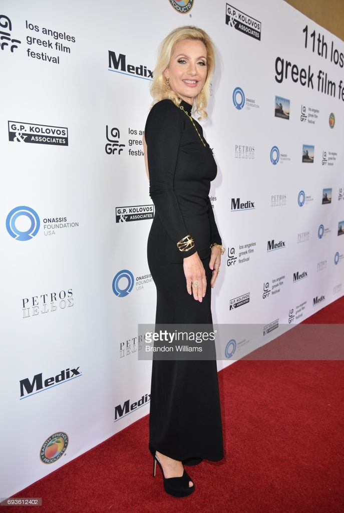 Actor / designer Doriana Richman attends the opening night of the 11th Annual Los Angeles Greek Film Festival at the Egyptian Theatre on June 7, 2017 in Hollywood, California.