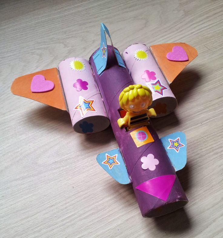 Avion en #carton