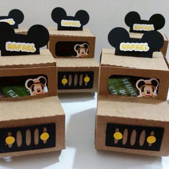 Jipe Safari Mickey Personalizado. <br>***não acompanha recheio***