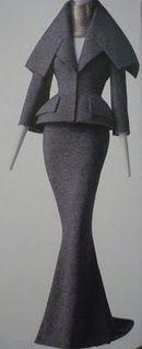 Dress, Azzedine Alaïa