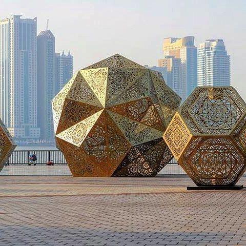 #Geometric #Sculpture #Metal #Installation #Structure #Technology #Automotive…
