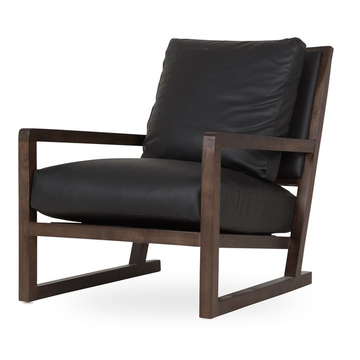caprice occasional chair black