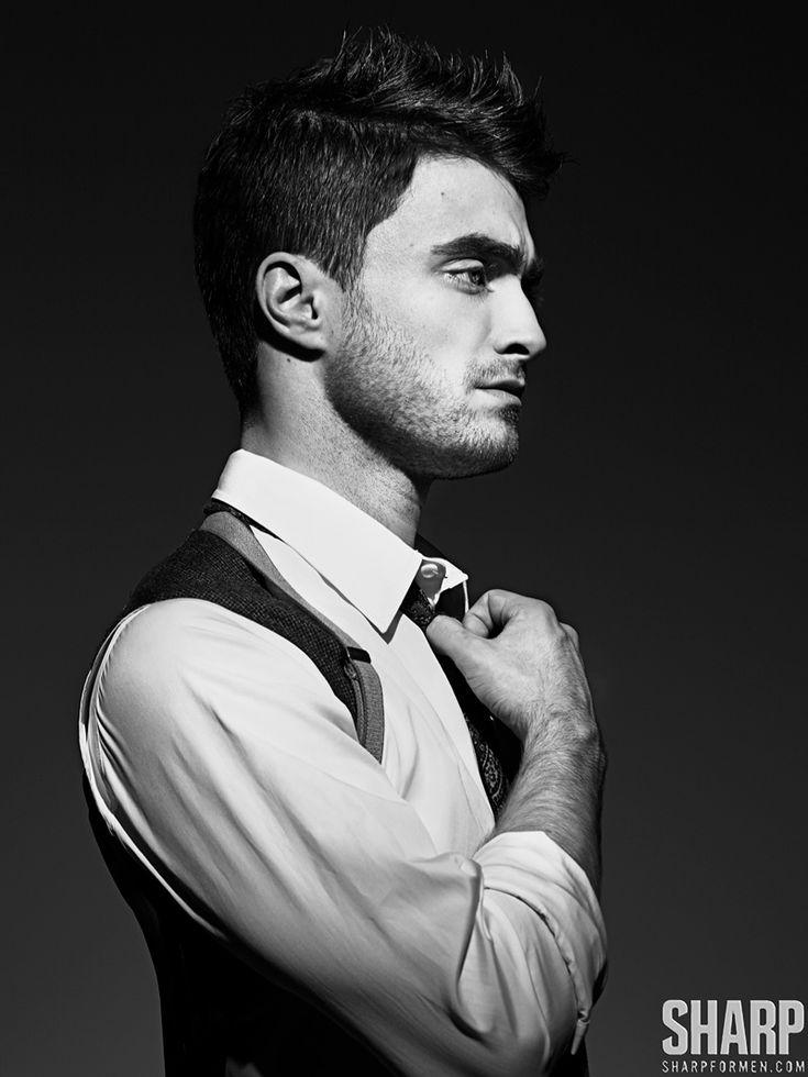 Daniel Radcliffe Dons Dapper Styles for Sharp  image daniel radcliffe 0002