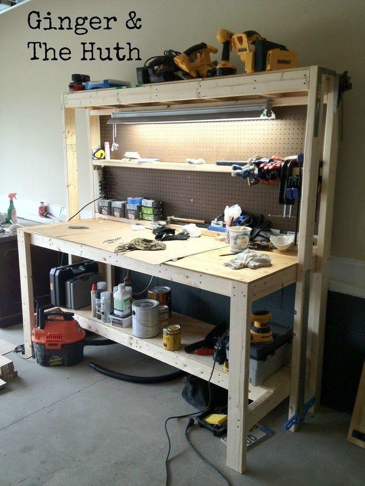Oltre 25 fantastiche idee su banco di lavoro per garage su for Idee di piano di garage