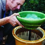 Step-by-step: build a soothing fountain: Silicone Caulk, Backyard Projects, Sooth Fountains, Diy'S Fountains, Backyard Fountains, Water Fountains, Step By Step, Gardens Fountains, Sunsets Com