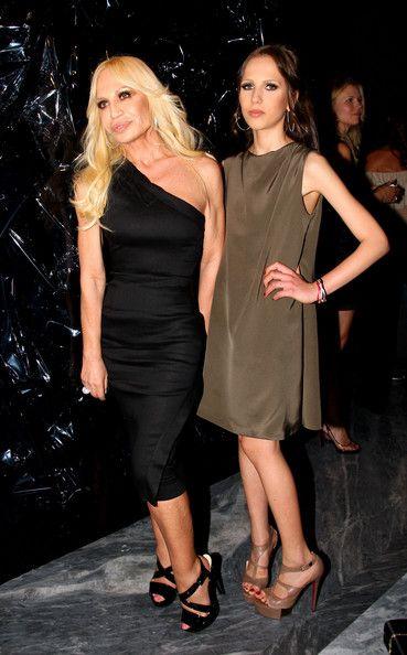 Donatella + Allegra Versace