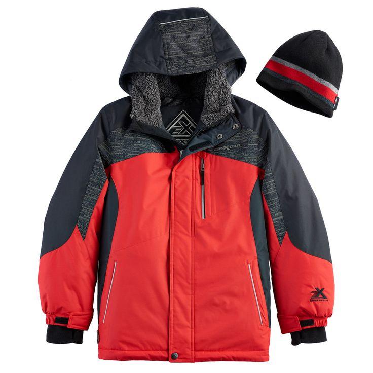 Boys 8-20 ZeroXposur Snowboard Jacket, Size: Medium, Red