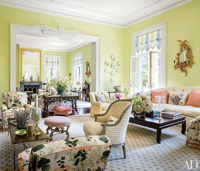 Charleston Decor. Mario Buatta Decorates a Stately Charleston Mansion for Patricia Altschul 15 best Southern Charm images on Pinterest  buatta