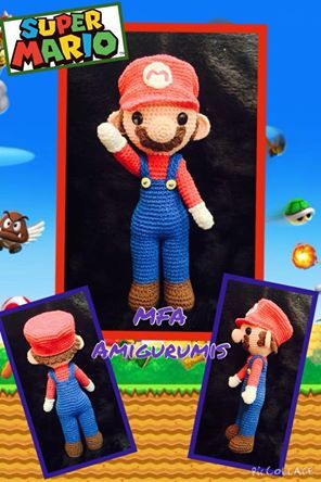 Super Mario www.facebook.com/MFAAmigurumis