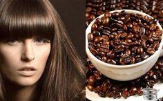 Кофейные маски для темных волос