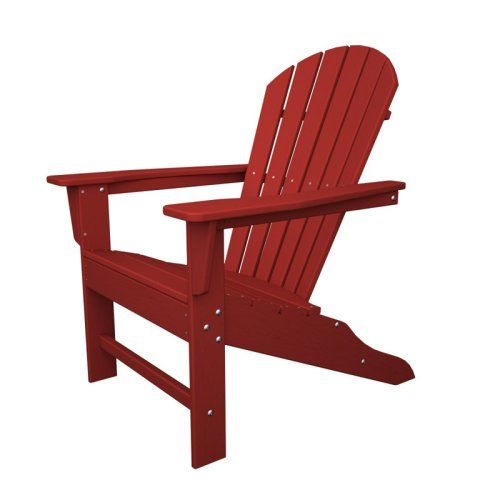 POLYWOOD® South Beach Recycled Plastic Adirondack Chair - Adirondack Chairs at Hayneedle