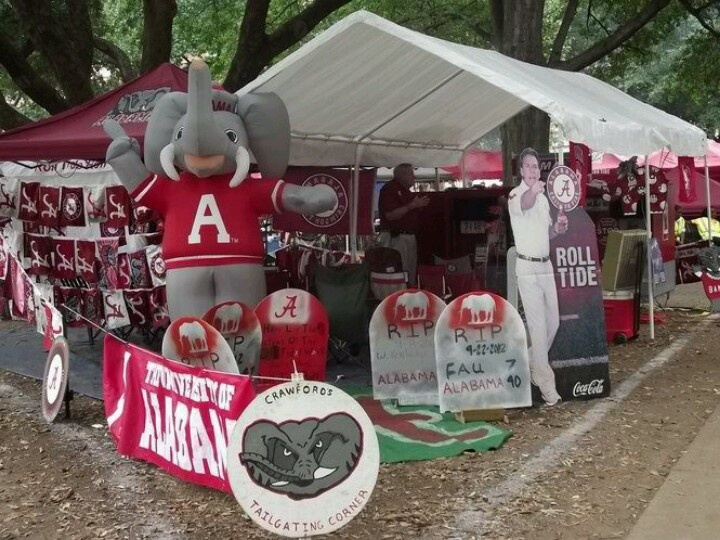 Tailgating Bama style & 86 best ~Alabama Tailgating~ images on Pinterest | Alabama crimson ...