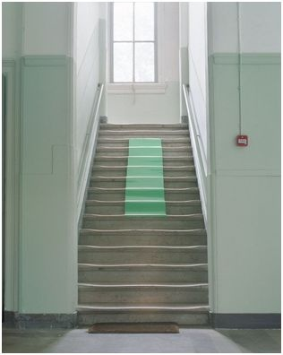 Mint - stairs idea