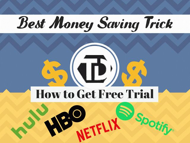 How to Get Free Trial without credit card by using this trick you can get netflix free trial,hulu free trial,spotify free trial,hbo free trial and much more for free and without having credit card