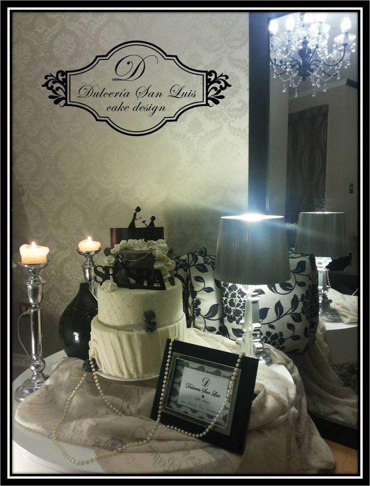 Estilo Chic Novias #weddings #cake