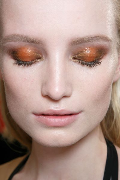 warm tones on the eyes // fall-spiration