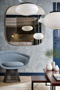 Join us and discover de best selection of midcentury modern mirror design inspirations at http://essentialhome.eu/
