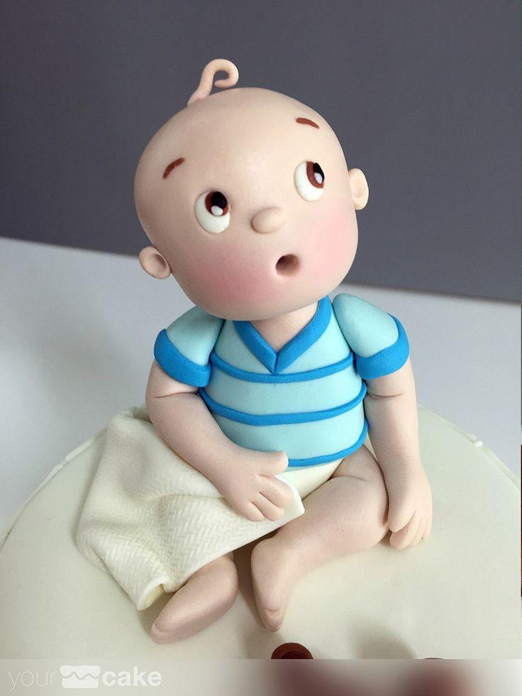 Your Cake. Fondant. Tarta Bebe