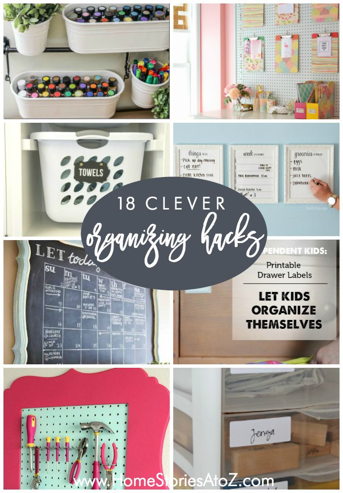 432 Best Clever Ideas Images On Pinterest Organisation