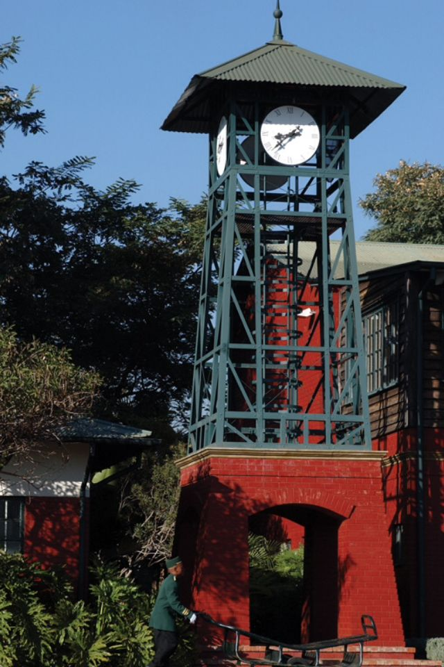 Rovos Rail-Pretoria Park Station Clock Tower