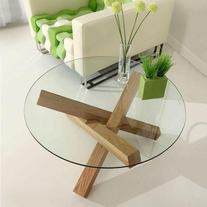 Table De Salon Design En Bois | 25 Melhores Ideias De Table Basse Verre Design No Pinterest