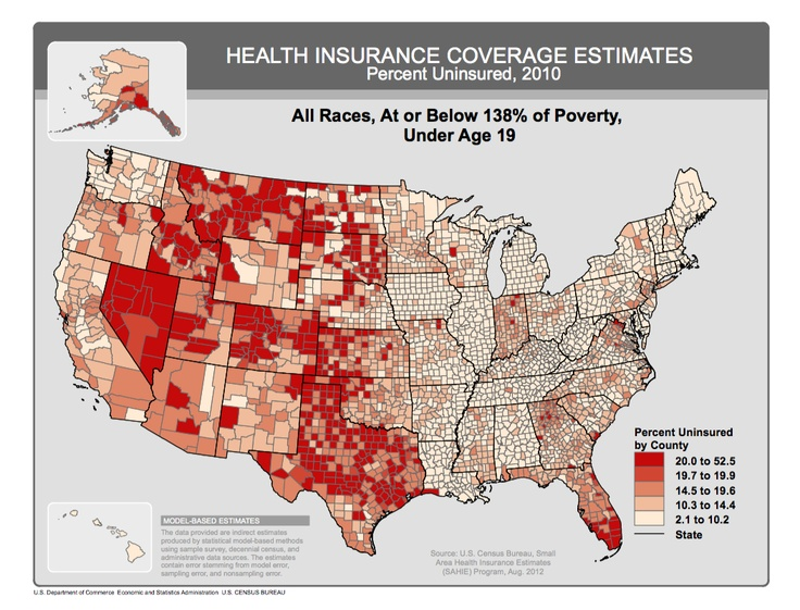 Uninsured patient populations by counties: http://saveonmedical.tumblr.com/post/31004051606/uninsured-patient-population-in-the-united-states #saveonmedical
