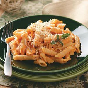 Pasta with Creamy Sweet Potato Sauce