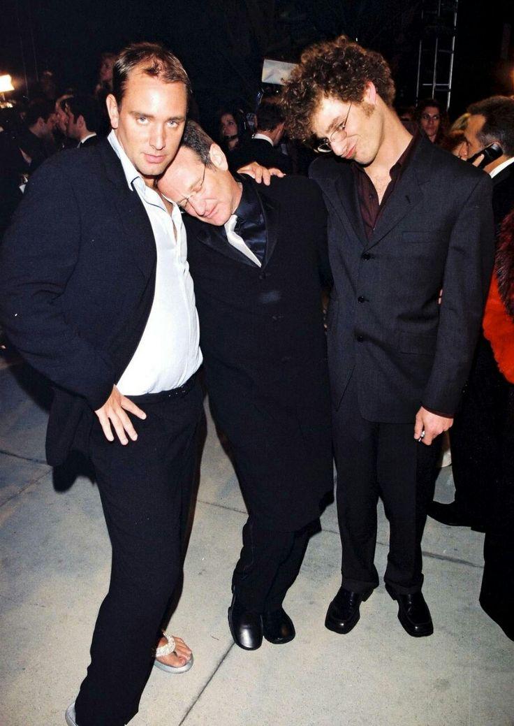 Trey Parker, Robin Williams and Matt Stone