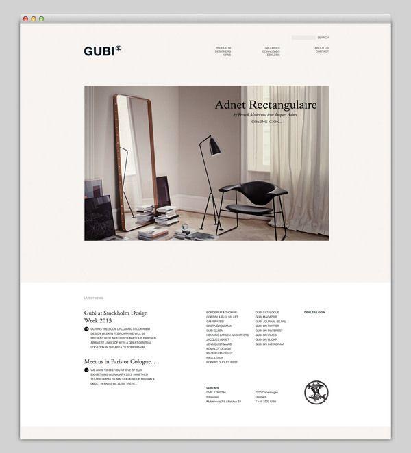 Gubi Website