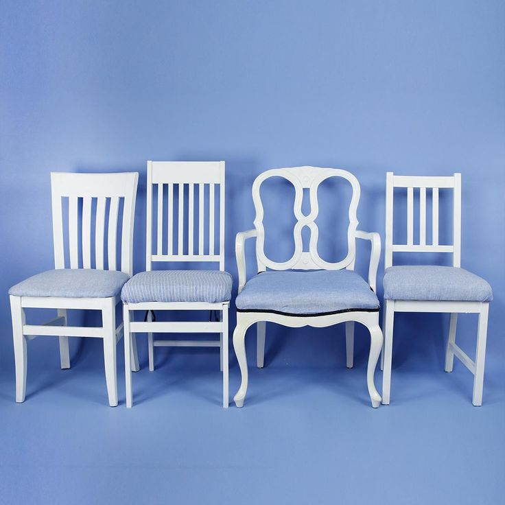 Turn Mismatched Chairs Into A Gorgeous Coordinating Dining Set - Mopget Diy Dining Room Table, Woven Dining Chairs, Mismatched Dining Chairs, Black Dining Chairs, Shabby Chic Table And Chairs, Dining Set, High Chairs, Rattan Chairs, Folding Chairs