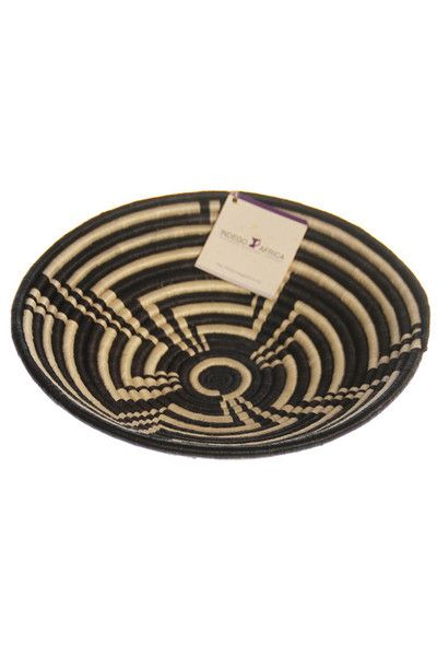 Woven Straw Coffee Table Bowl