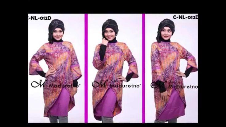 Dress Batik Kombinasi Modern, Maduretno Nusantara