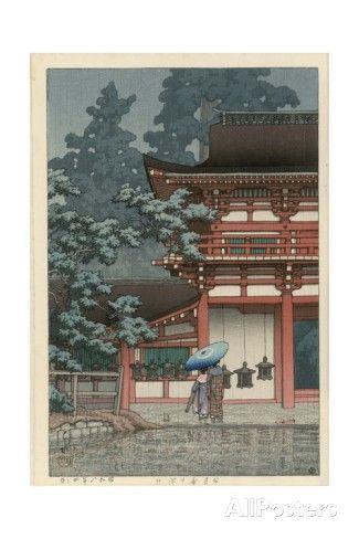 Kasuga Shrine, Nara Giclee Print by Kawase Hasui at AllPosters.com