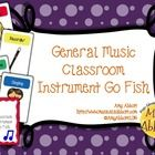 Go Fish is a classic card game that students, parents and teachers love to play!  This version is tailored for the general music classroom and rein...