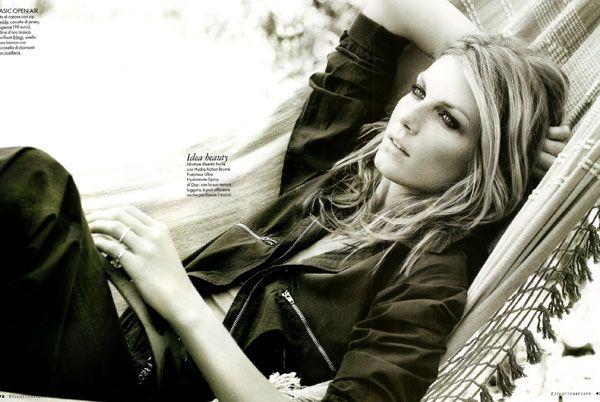 Angela Lindvall | Matt Jones #photography | Elle Italia October 2009