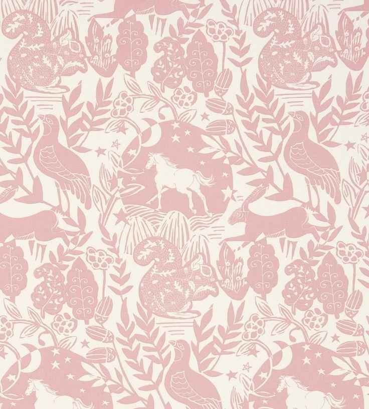 How to Style | Girls Rooms | Westonbirt Fabric by Clarke & Clarke | Jane Clayton