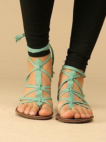 sandalsShoes, Gladiators Sandals, Strappy Sandals, Summer Sandals, Mint Green, Style, Mint Sandals, Free People, Teal Sandals