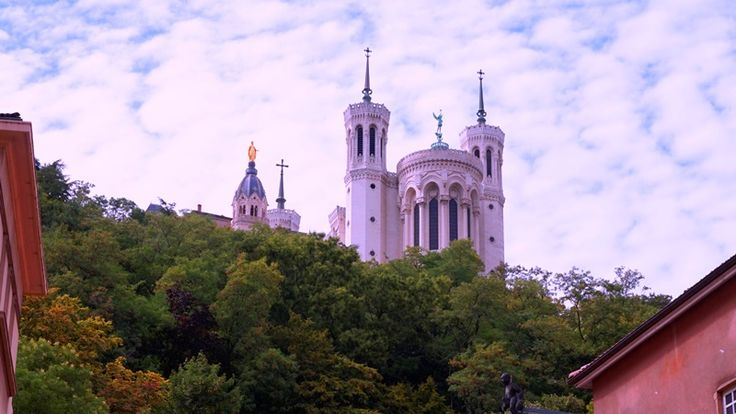 """Usuario: yesica (Francia) - """"La basílica de Notre Dame de Fourviere"""" - Tomada en Lyon el 23/08/2014"""