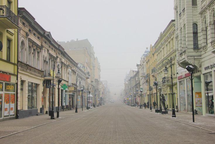 Piotrkowska Street, Łódź, Poland #lodz