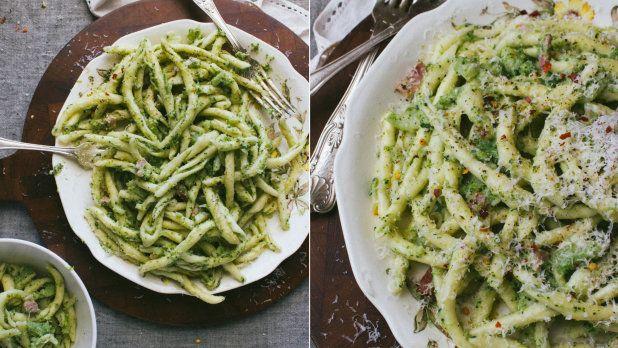 Těstoviny s brokolicí a slaninou Foto:
