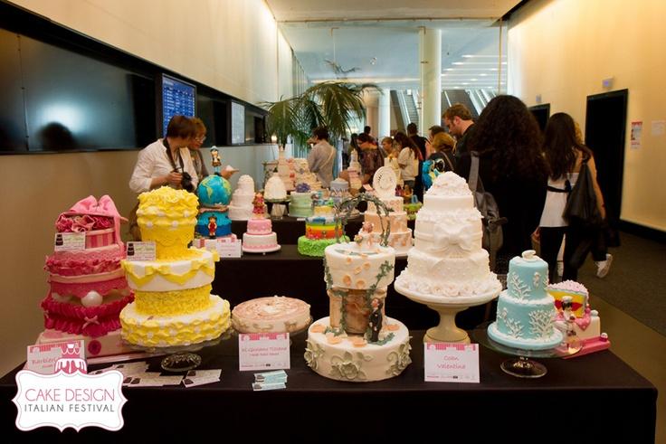 Cake Design Italian Festival 2012  I wanna be a Cake Designer