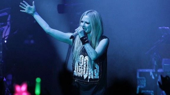 Avril Lavigne says her new music will be here before you know it