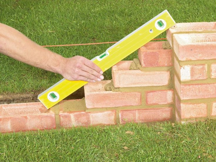 How To Build A Brick Garden Wall