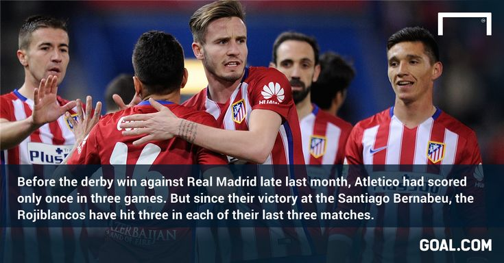 Watch out PSV: Atletico goals flowing again since Real Madrid win