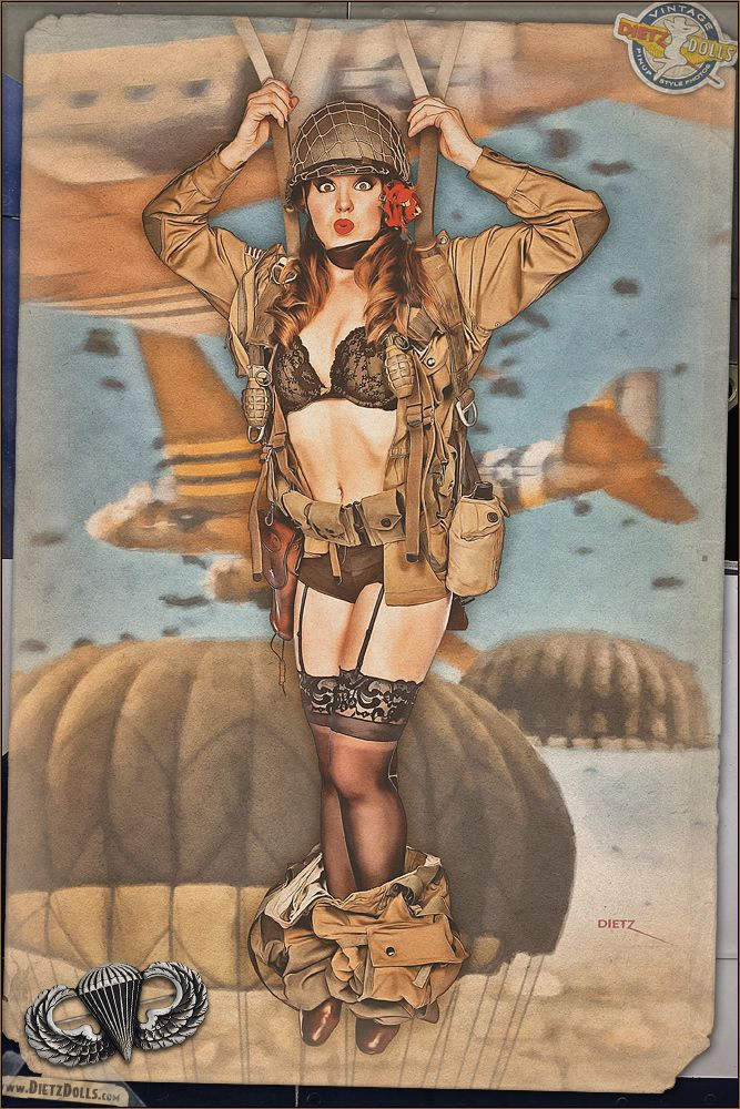 army pin up girl fuck