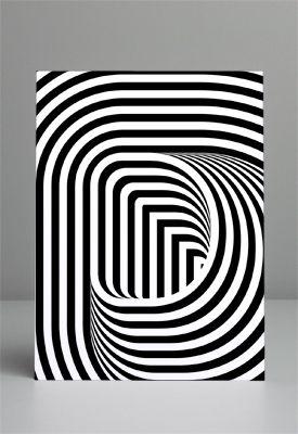 optical illusion   via MAINSTUDIO Graphic Design